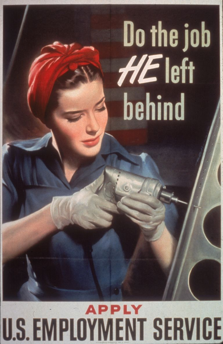 "Rosie Riveter We Can Do It WWII 11/"" x 17/"" Collector/'s Poster Print -B2G1F"