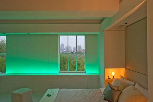 Contemporary Apartment With LED Mood Lighting | Apartments