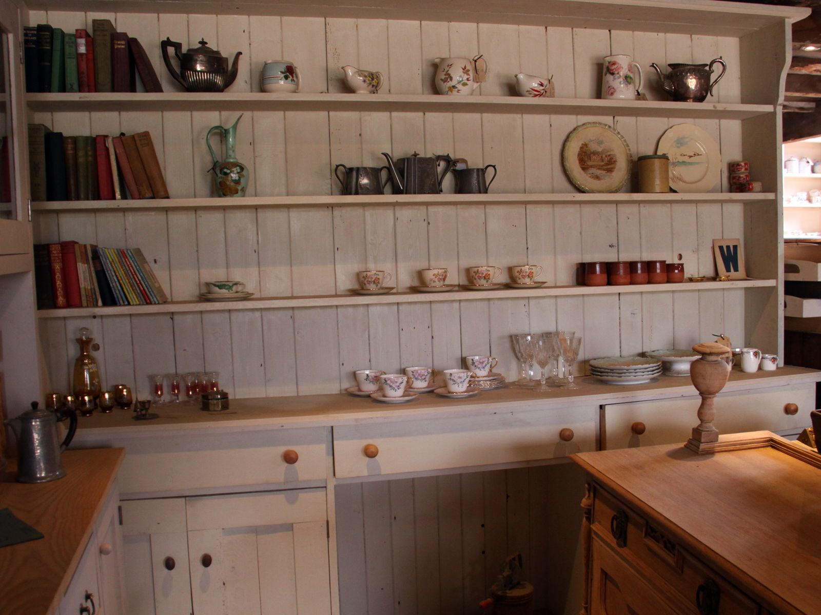 Painted Welsh Dresser Green Google Search