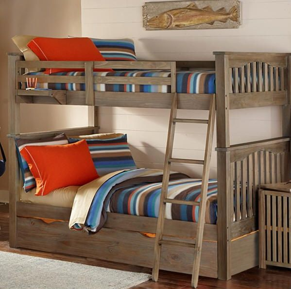 Crosspointe Full Over Full Bunk Bed Design Bunk Beds Bunk Bed