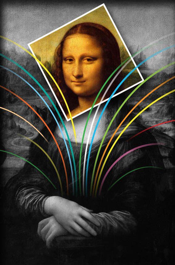 Mona Lisa Designed by Asghari