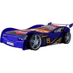 Autobett Night Racer – blau – 90×20