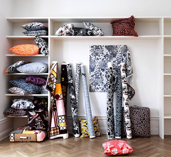 Textiles from Swedish design company Bantie via anthology mag blog