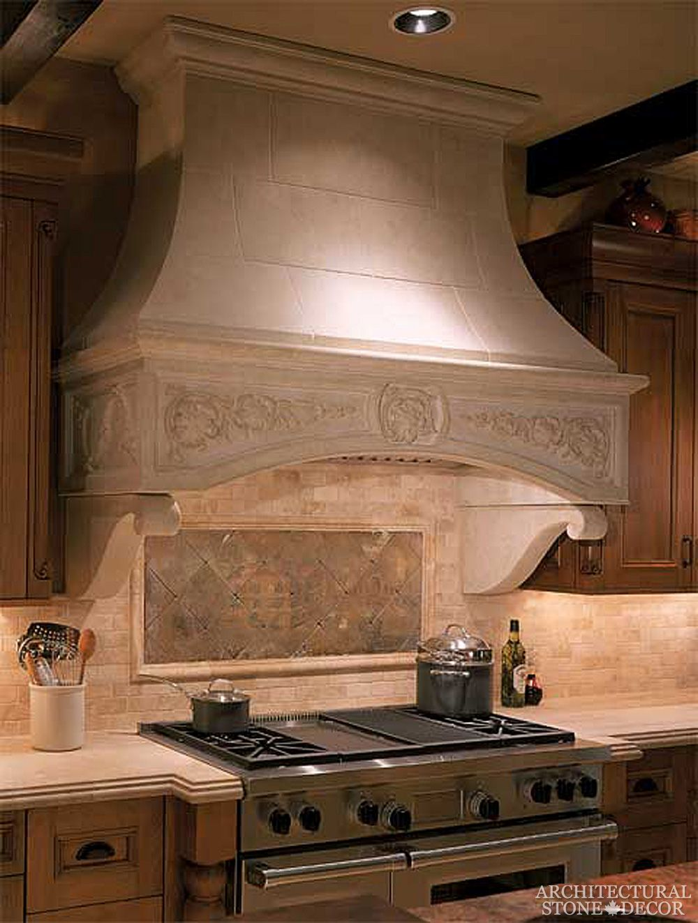 Kitchen Counter Topss Hoods Stone Limestone Antique Hand Carved Stone Range Hood Stone Kitchen Hood Kitchen Hoods