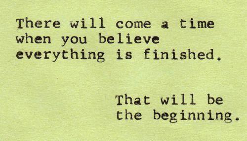 beginning 2