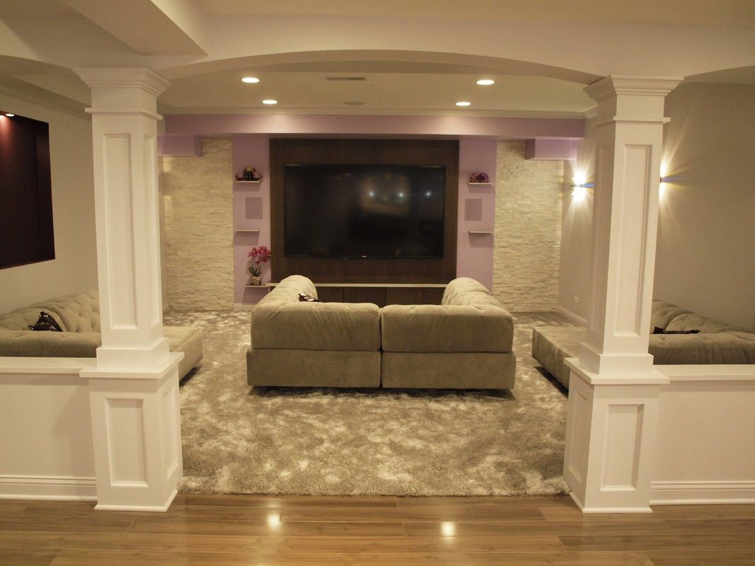 Remodeling Basement Ideas Basement Columns Ideas Basement Finishing And Basemen