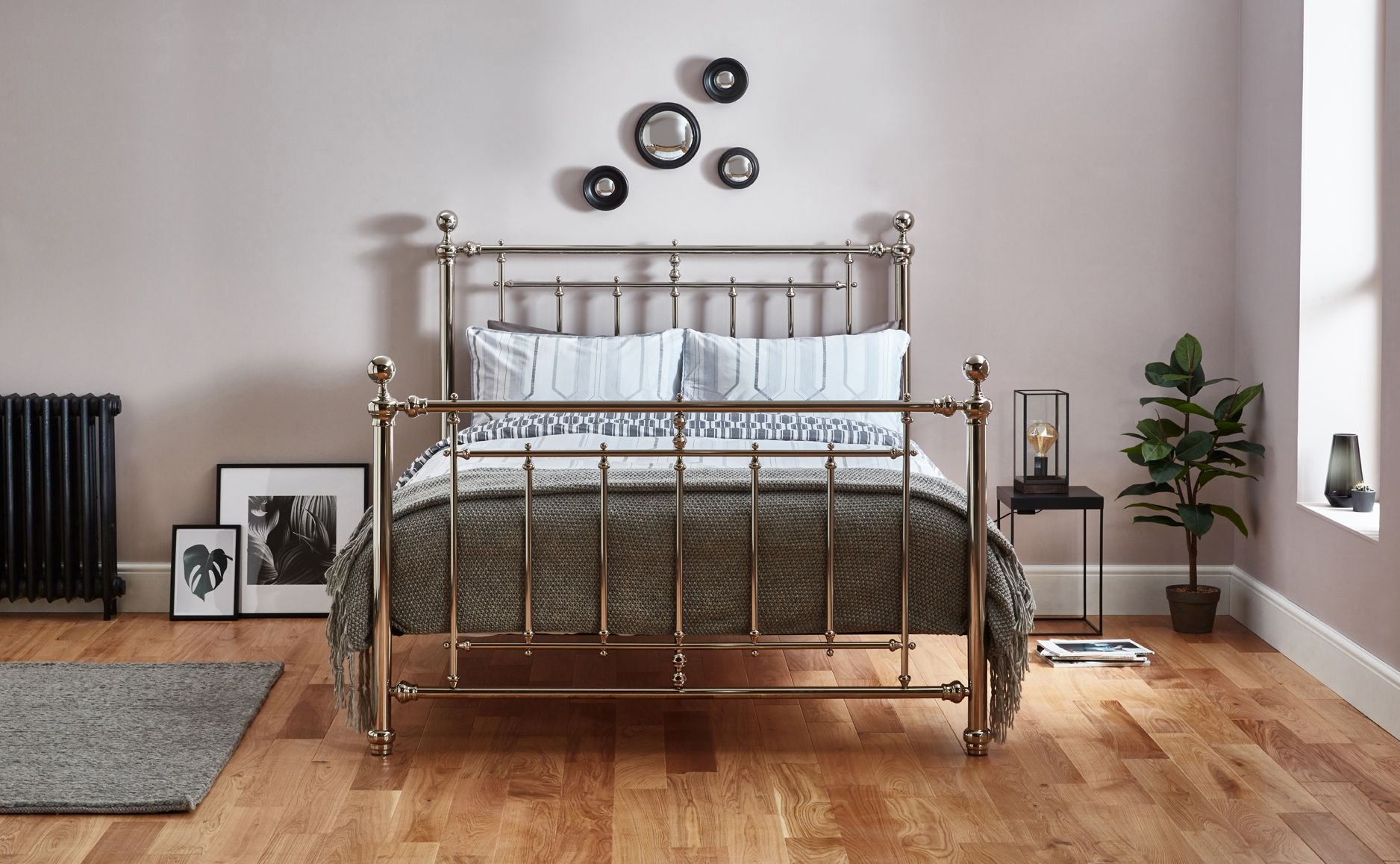 Be Inspired By Our Zinnia Bed A Stunning Chrome Plated