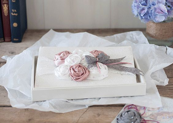 diy wedding guest book with roses. Decorate your own guest book. DIY wedding supplies