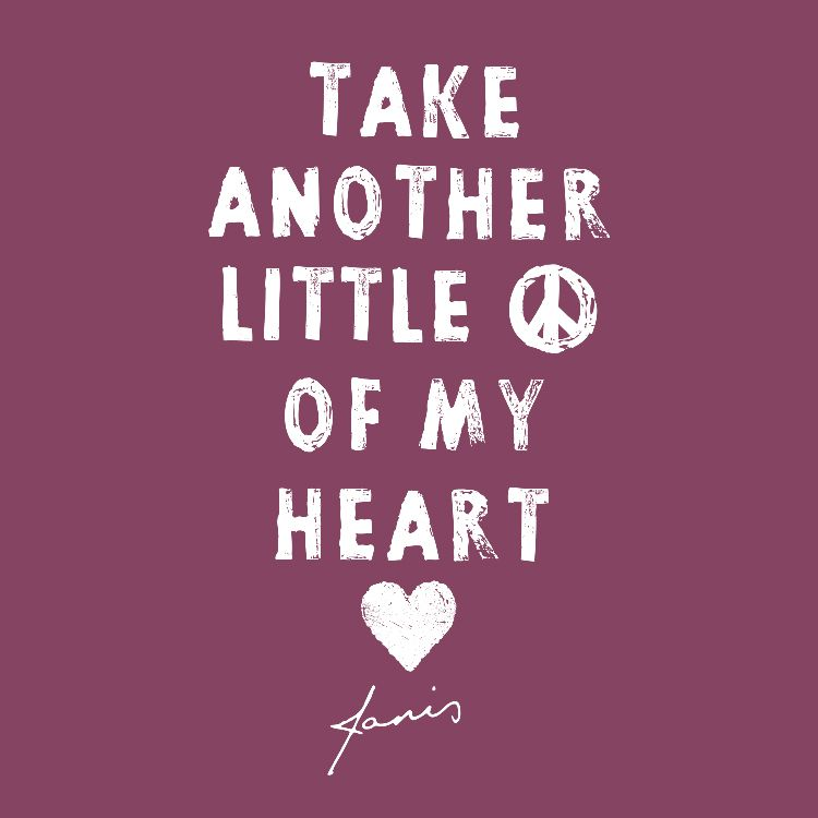 Lyric my rock lyrics : Take another little piece of my heart