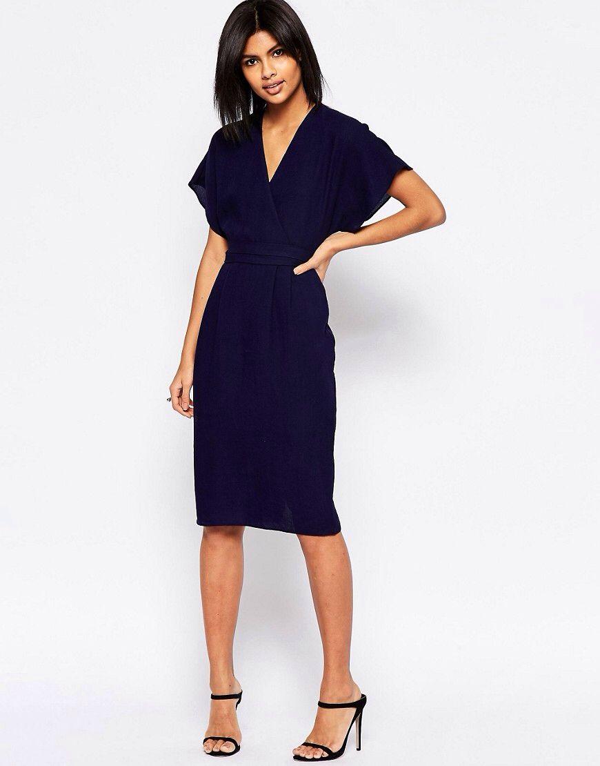 Sheena Crepe Wrap Dress in 2021 | Wrap dress, Fashion, Clothes