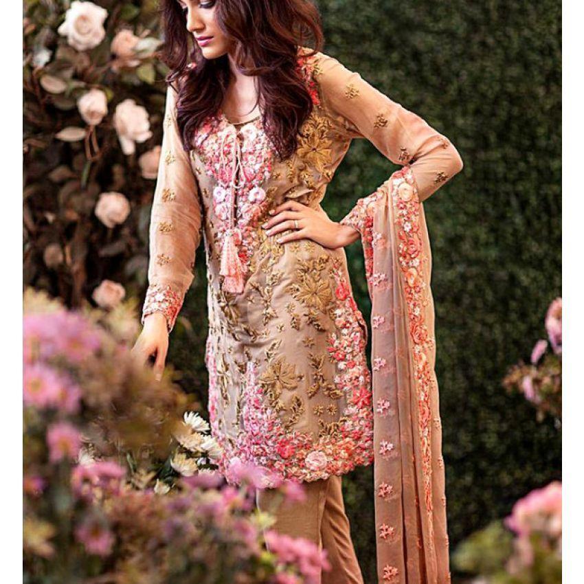 a56e37d871 Mina Hasan Embroidered 3 piece Suit – 07 | wedding inspirations ...