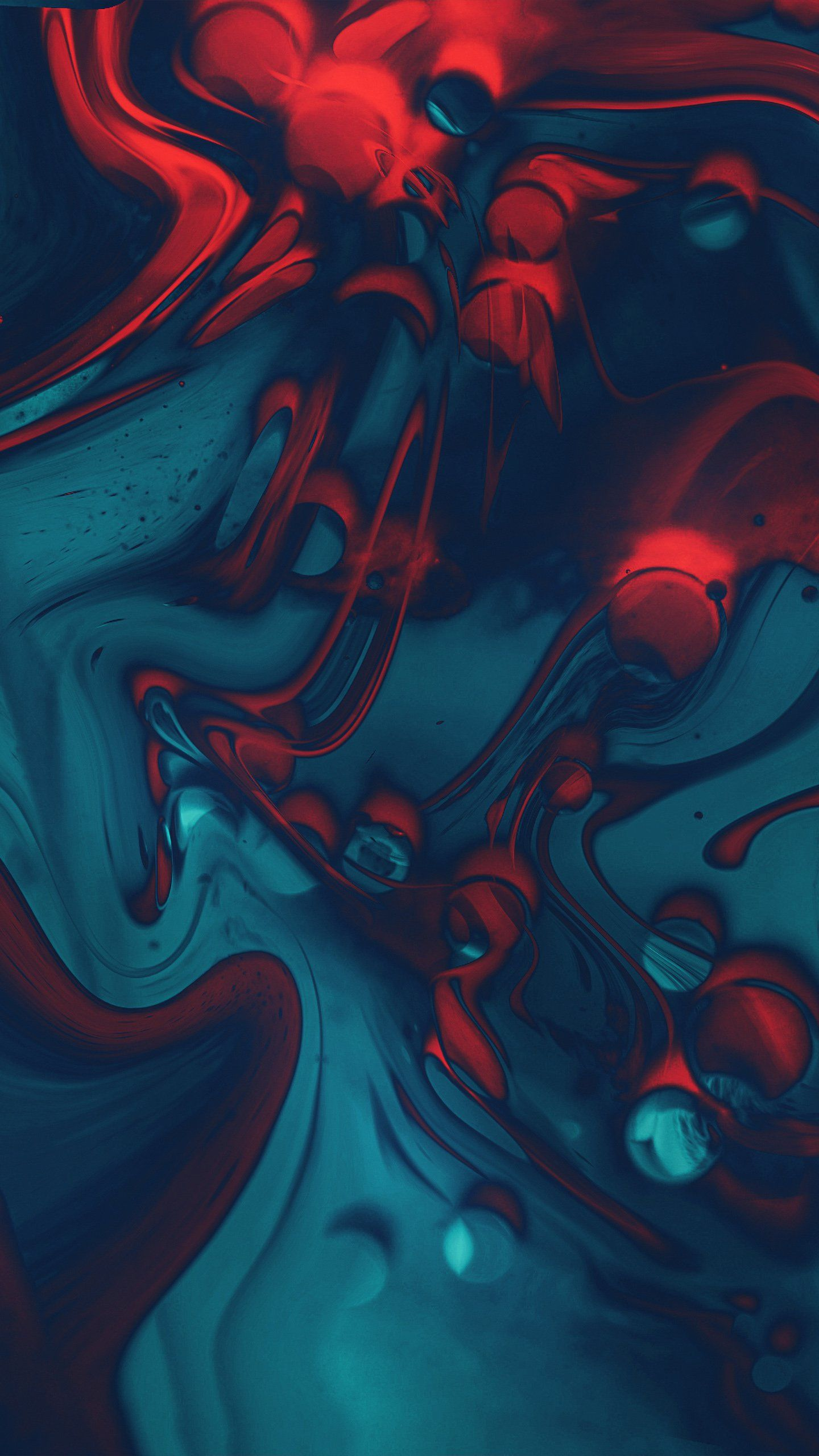 Red Blue Abstract In 2019 Abstract Aesthetic Wallpapers