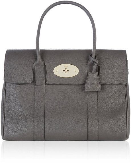 ee05cb54546c Mulberry Mole Grey Bayswater Tote (mine is graphite in color and from the  outlet in York