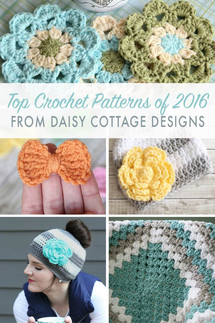 Best Free Crochet Patterns of 2016   Puntos, Ganchillo y Tejido