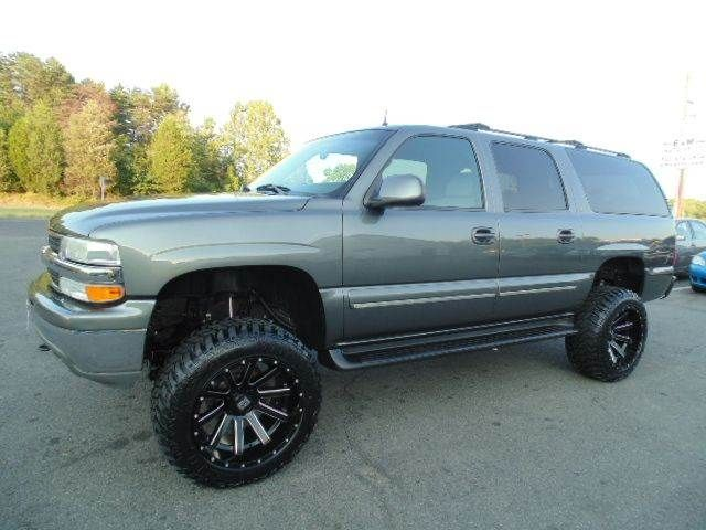 Just Lifted 2002 Chevrolet Suburban Lt 1500 4x4 Suv Suspension