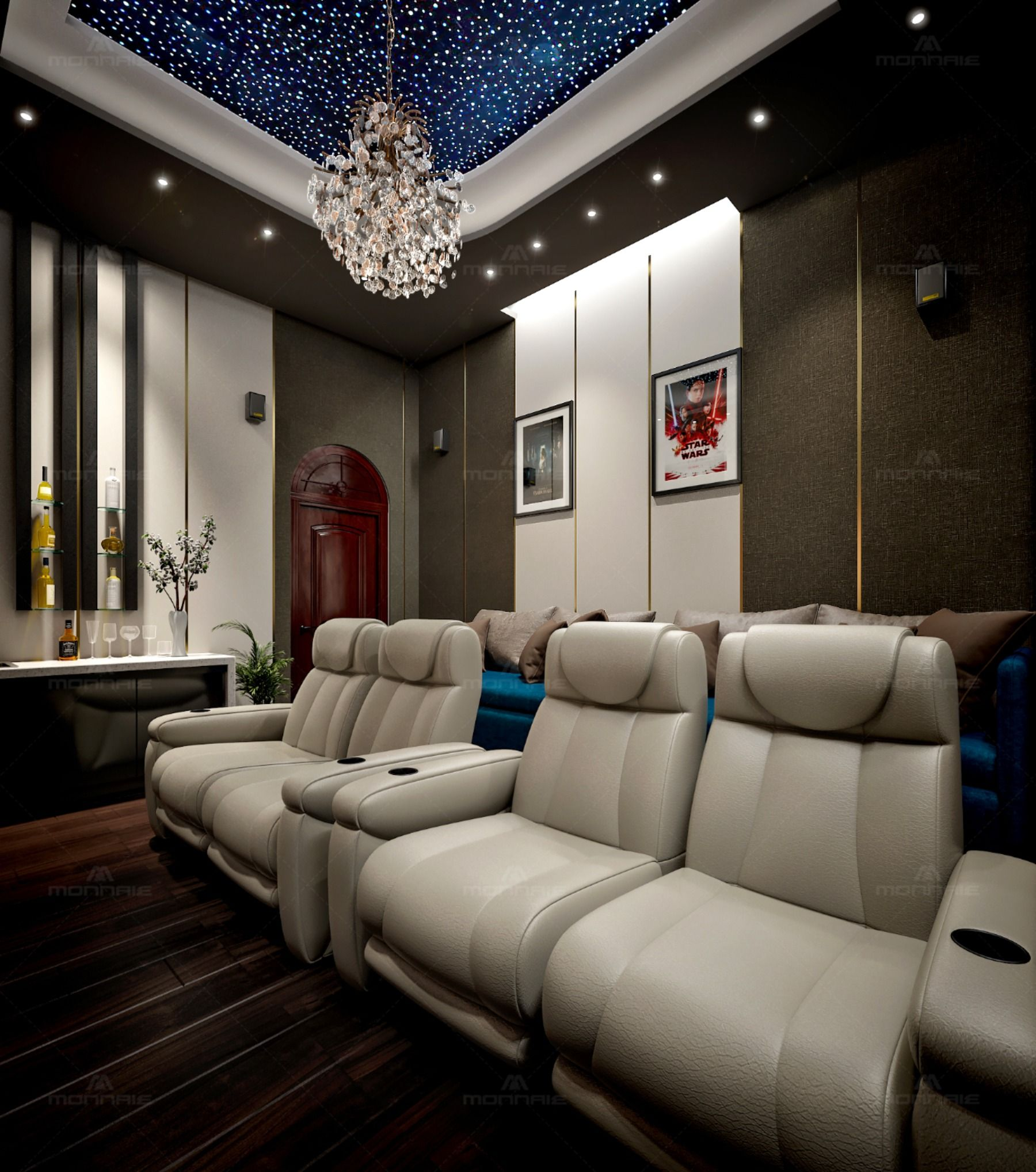 Home Theatre Design Ideas Have Become An Integral Part Of