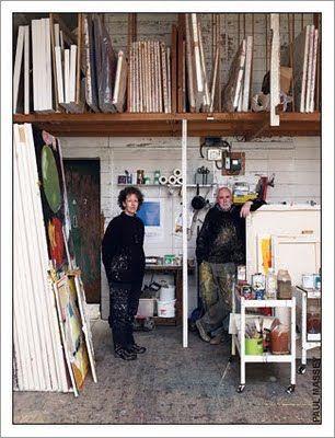 porthmeor artists studios crumbling beauty studio artist and