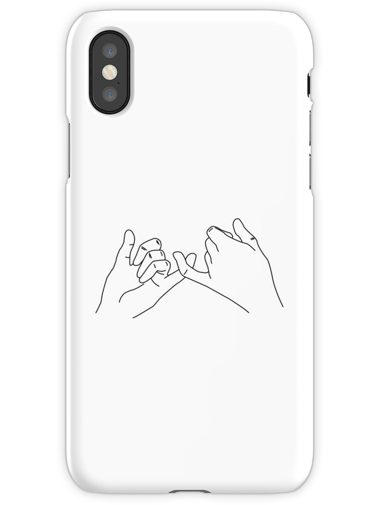 Pinky Promise Iphone Case By Savagedesigns In 2019 Iphone