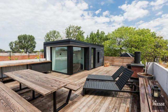 terrasse toit escalier interieur - Recherche Google Escalier - designer gartensofa indoor outdoor