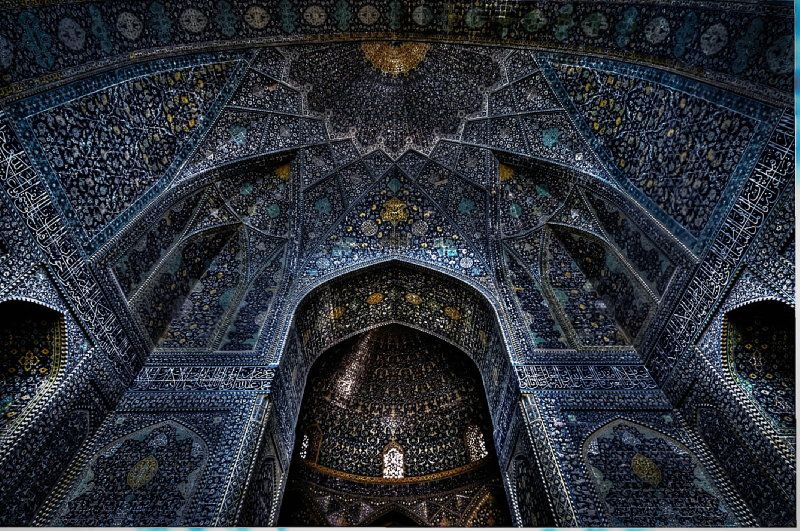 Stunning Mosque interior