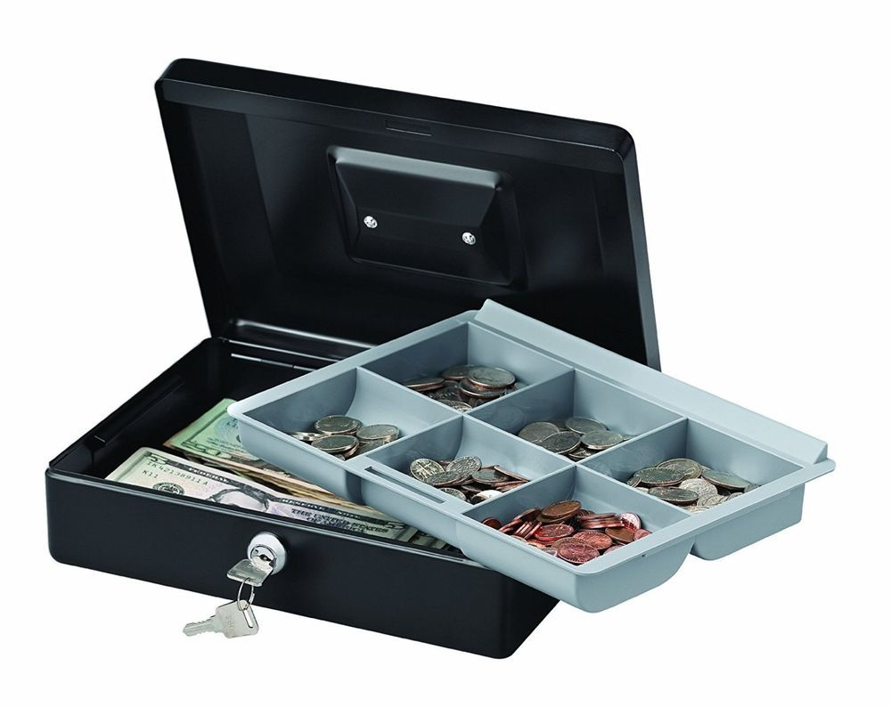storage deal box money safe drawer daily itm coin cash selected lock pos printer tray bill drawers store for