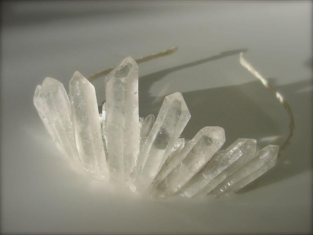 Quartz Crystal Headband Healing stones and crystals