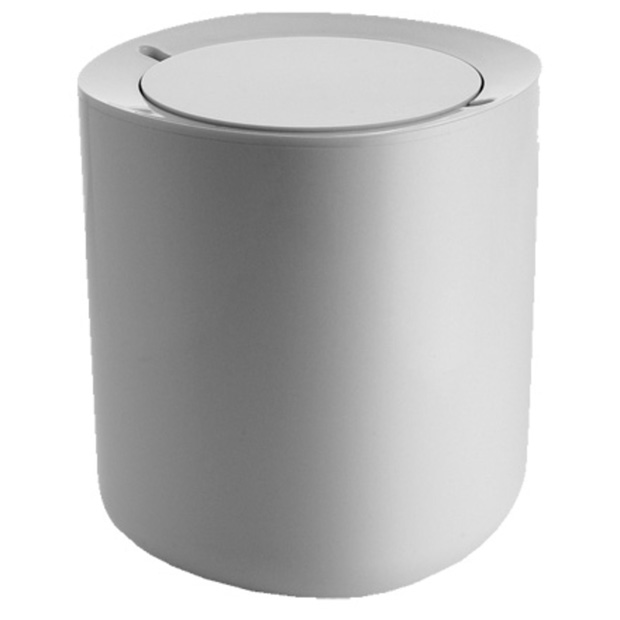 Birillo Bathroom Waste Basket White