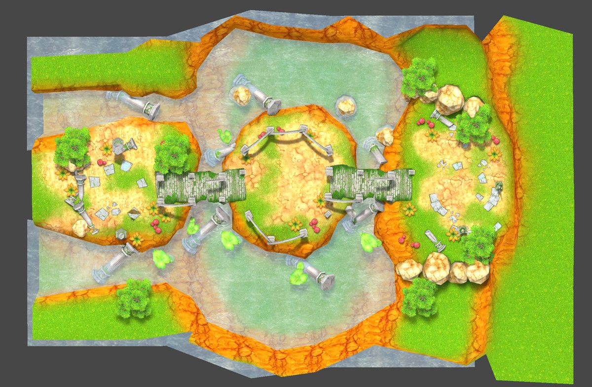Casual RPG Environment 05 3D Fantasy Unity Asset Store