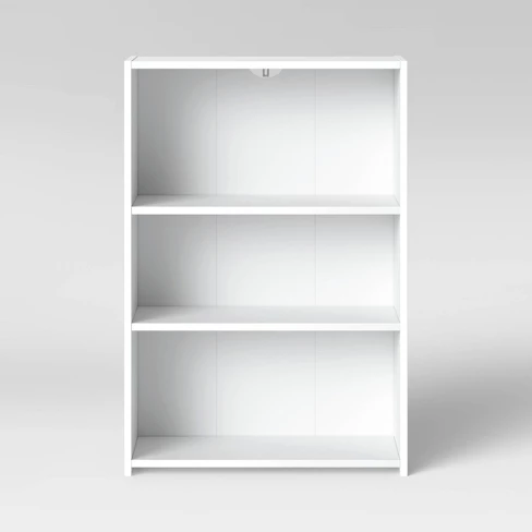 3 Shelf Bookcase Room Essentials White Bookcase 3 Shelf Bookcase Room Essentials