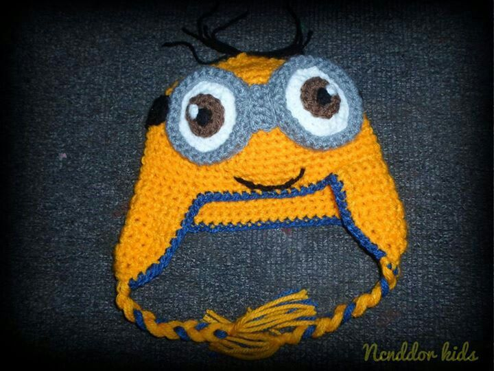 Gorrito de minion, el personaje de Mi villano favorito | Hat baby ...