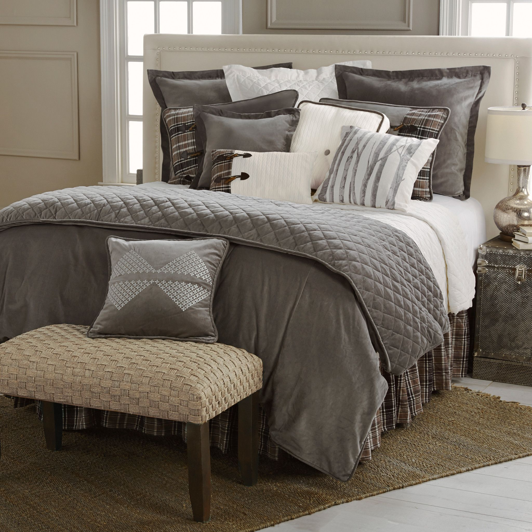 rustic comforter a original photos bed for in style american set of blocks intended bedding cabin cookwithalocal huts gallery decorate bag geo home comforters