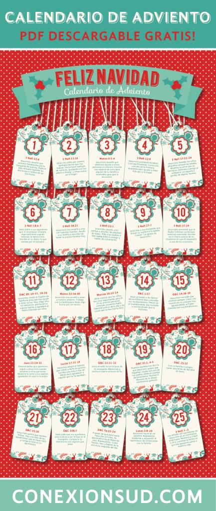 10 Calendarios De Adviento Para Armar Ideas Para El Hogar - Calendario-de-adviento