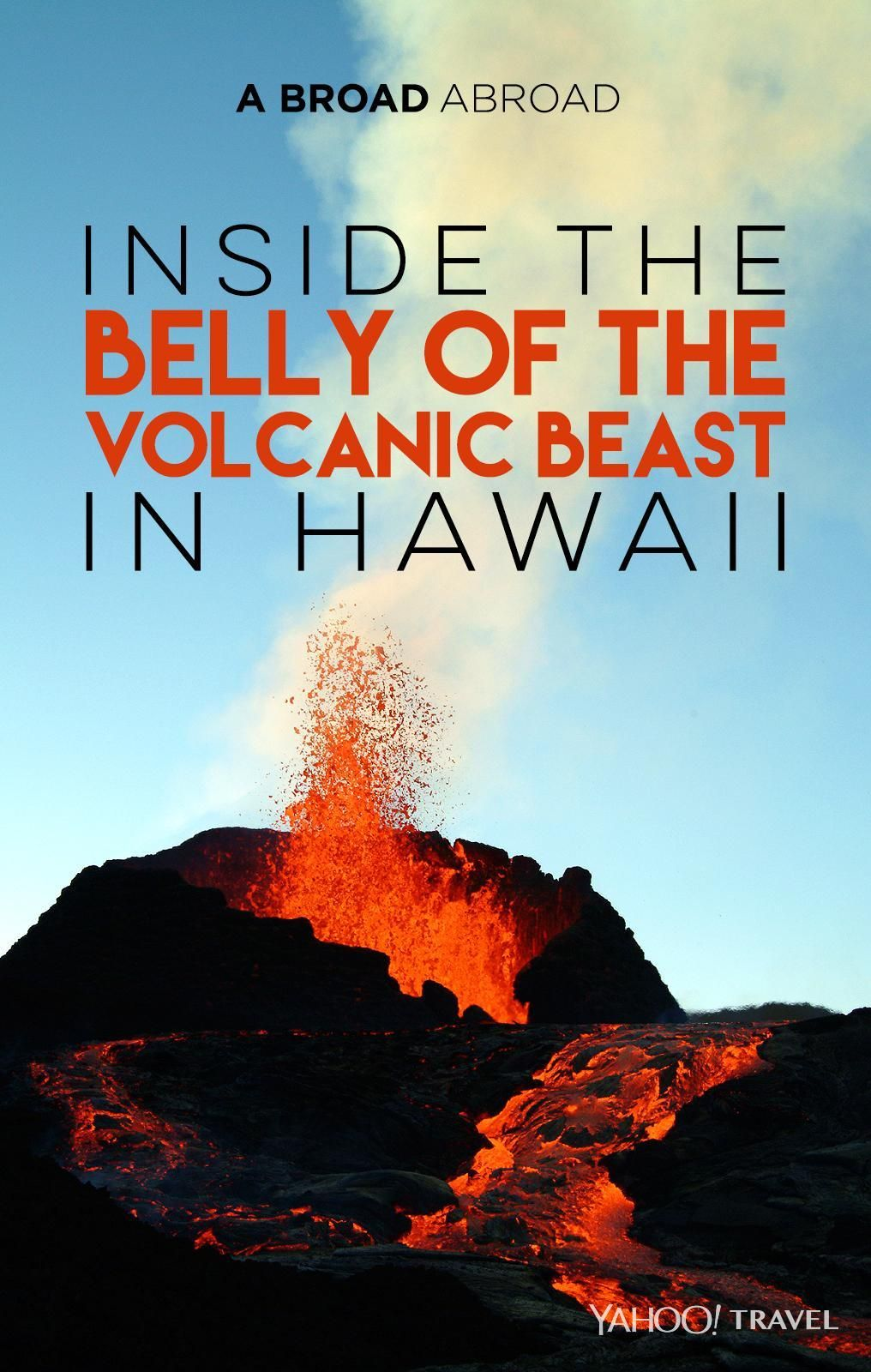 Hawaii is the land of Pele, the volcano goddess. InsideVolcanoes National Park is the Kilauea volcano, the most active volcano on earth, which, according to the National Park Service, produces 250,000 to 650,000 cubic yards of lava per day — enough to resurface a 20-mile-long two-lane road daily. Related: WATCH: The Magic of Night Swimming With Hawaii's Gentle Giants The lava ate this road for lunch.(Photo: Paula Froelich) While it is beautiful — and the Kilauea Caldera glows every night…