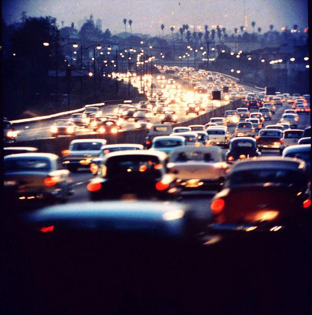 La Picture City Road Essay Traffic Jam