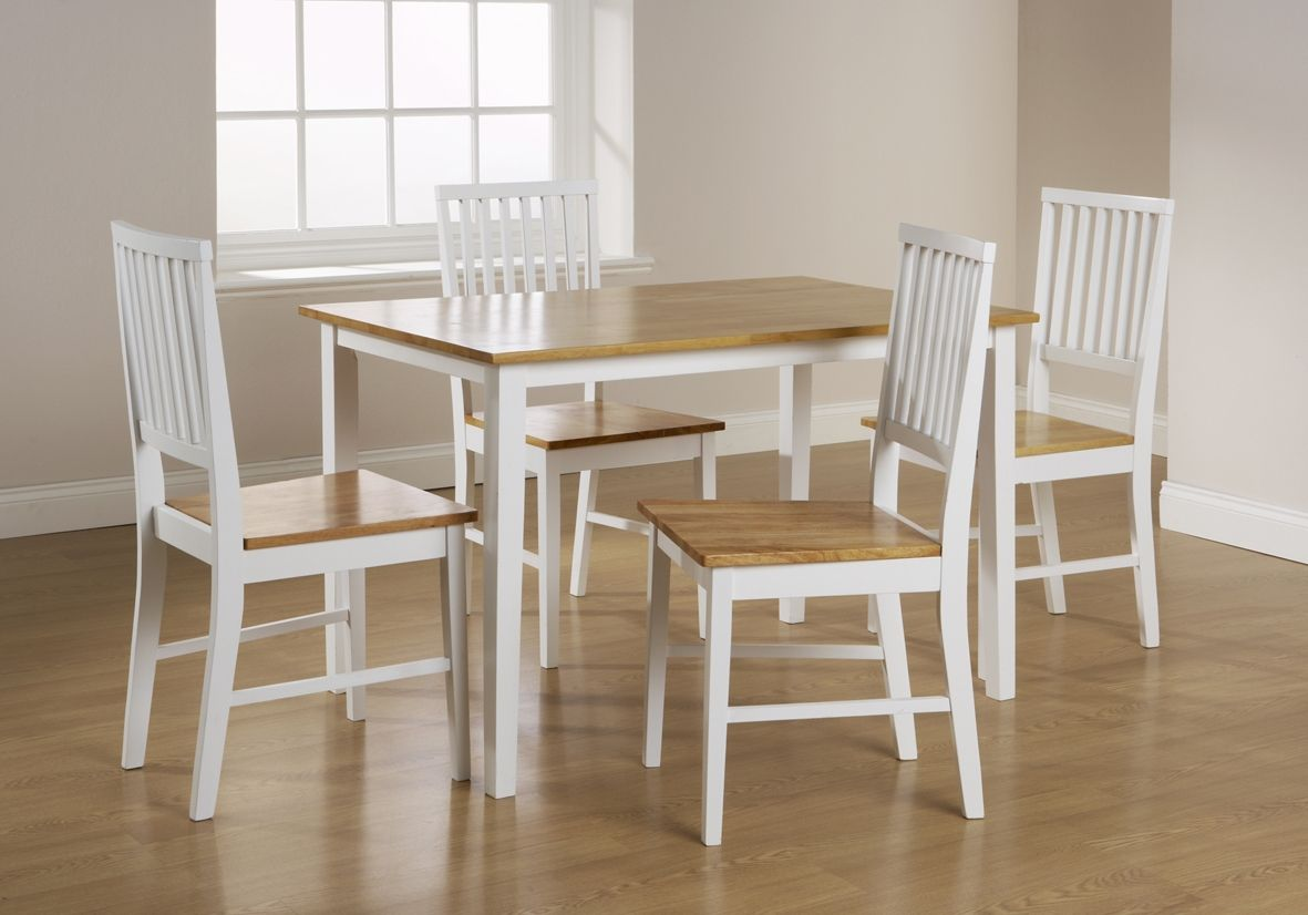 Kitchen Table White And Oak White Dining Room Table White