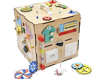 personalisierte montessori spielzeug besch ftigt brett fidget schloss brett sensorische. Black Bedroom Furniture Sets. Home Design Ideas