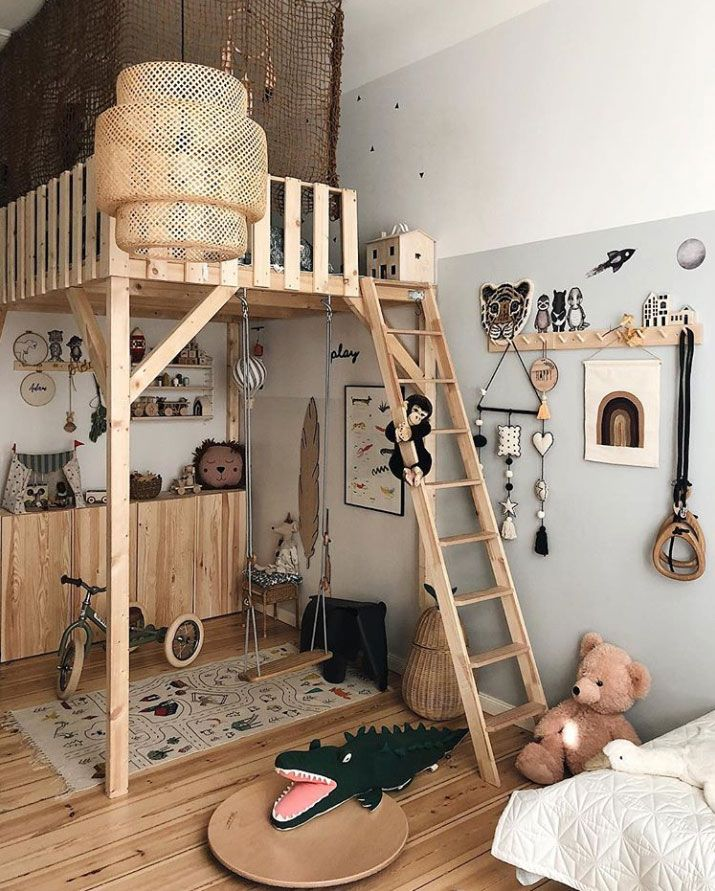 Instagram Find: Viktoria's Awe-Inspiring Kids Rooms Filled With Pretty Design - Nordic Design #kidsrooms