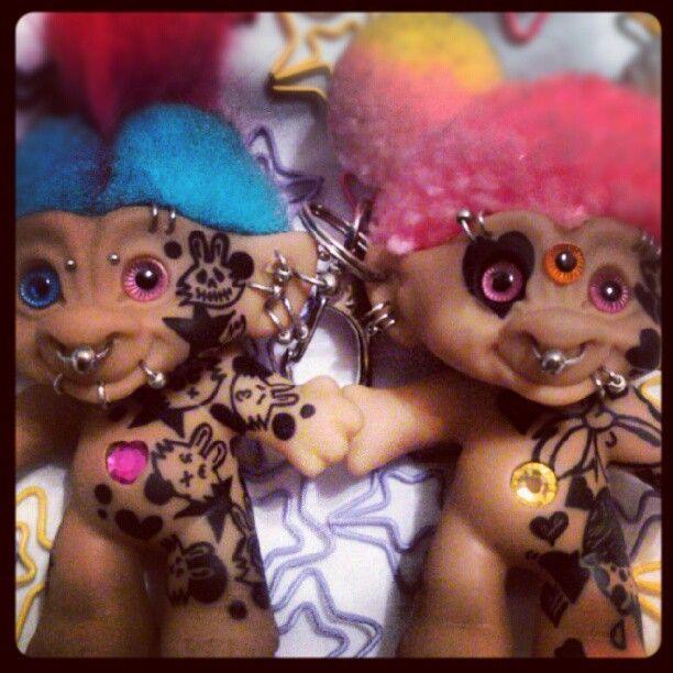 custom troll dolls