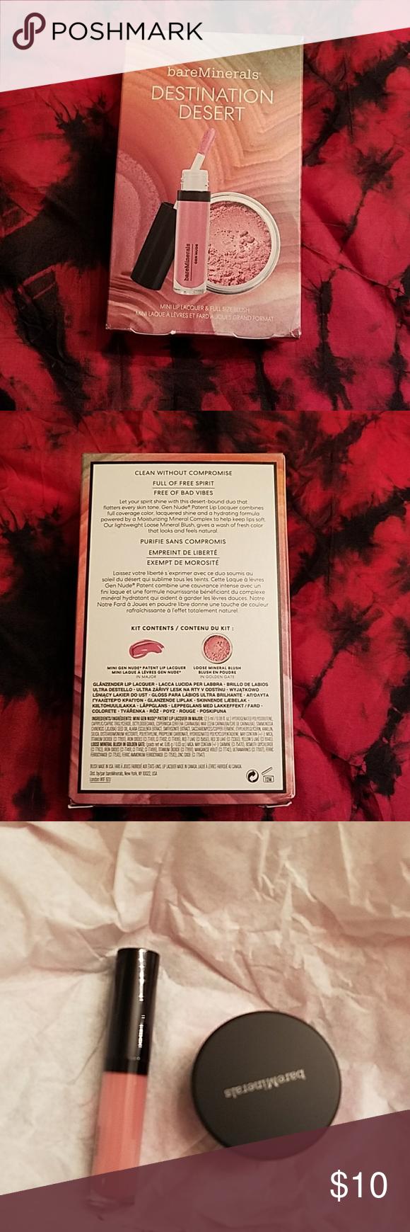 3 for $20🌶New Bare Minerals Lip/Blush set NWT in 2020 ...