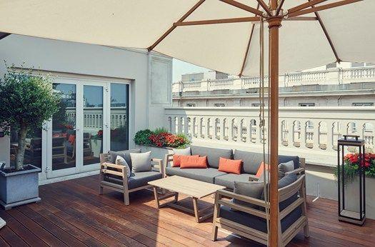 ETHIMO ARREDA LE TERRAZZE DEL PARK HYATT MILANO | Architettura del ...