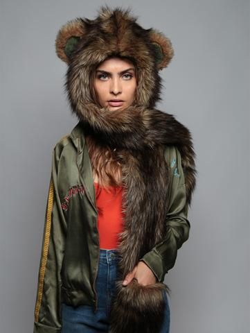 dcba31f93 Grizzly Bear Italy SpiritHood Canada Goose Jackets, Faux Fur, Fur Coat,  Winter Jackets
