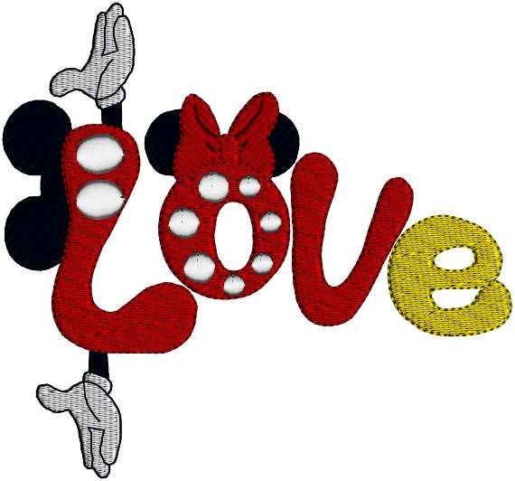 Valentine XOXOX0 Miss Mouse Mister Mouse Love Word Art by Dave7867, $5.99