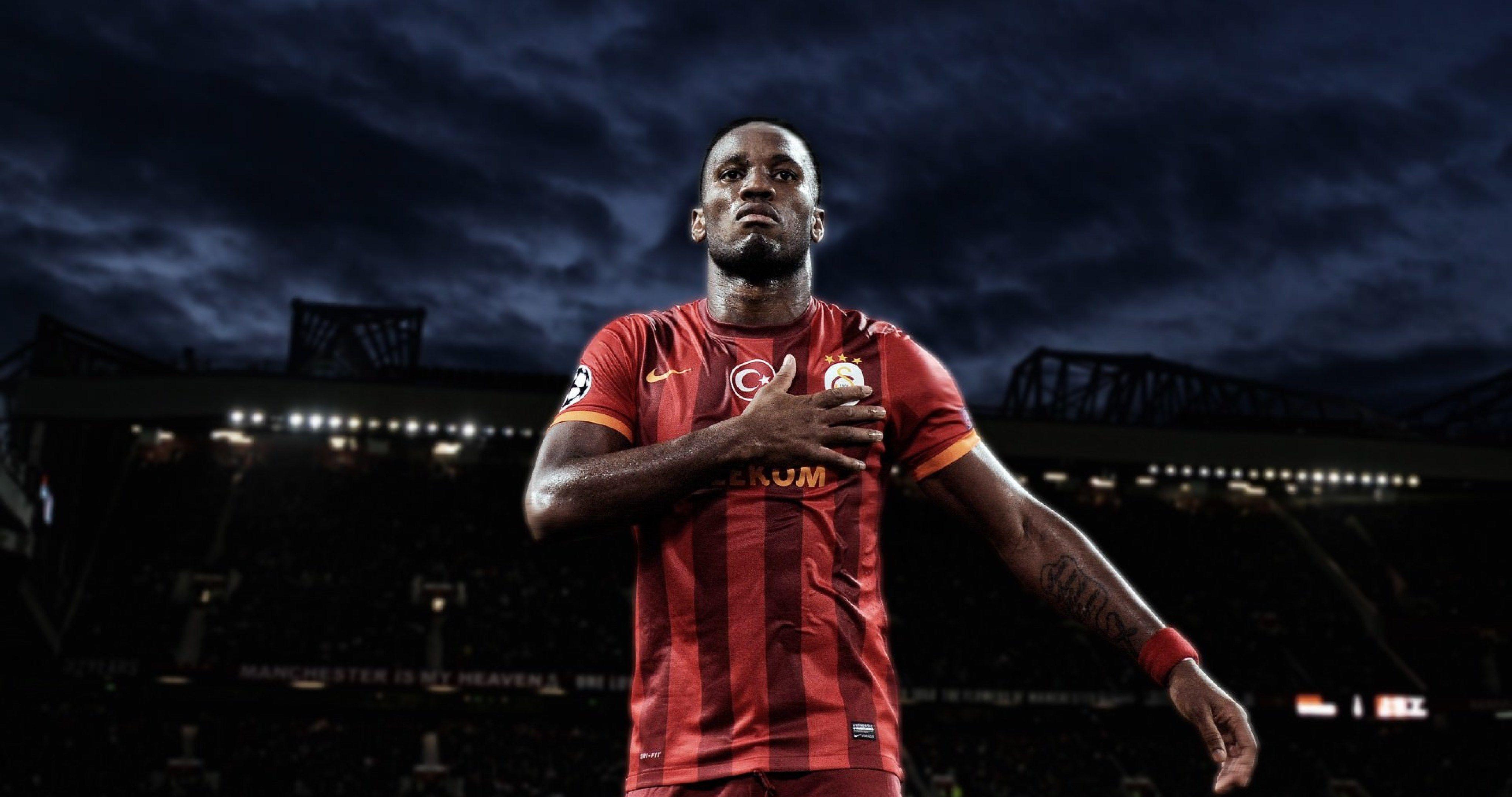 Didier Drogba Football 4k Ultra Hd Wallpaper Didier Drogba Hd