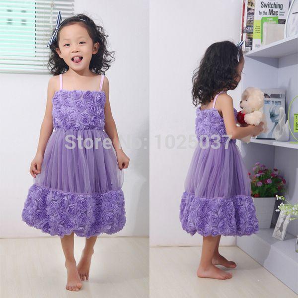 Flower Girl Dresses Toddlers Rose Wholesale