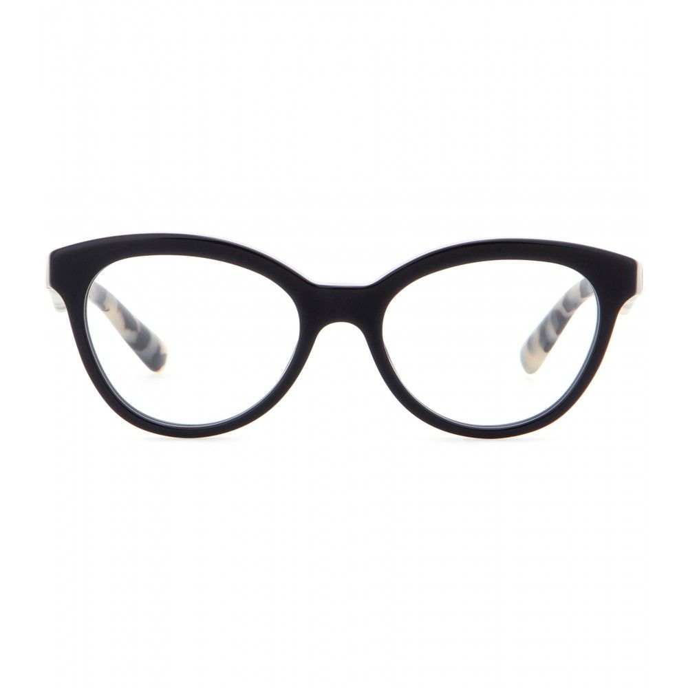Prada - Brille - Die Brille von Prada ist mit ihrer dezenten Cat-Eye ...