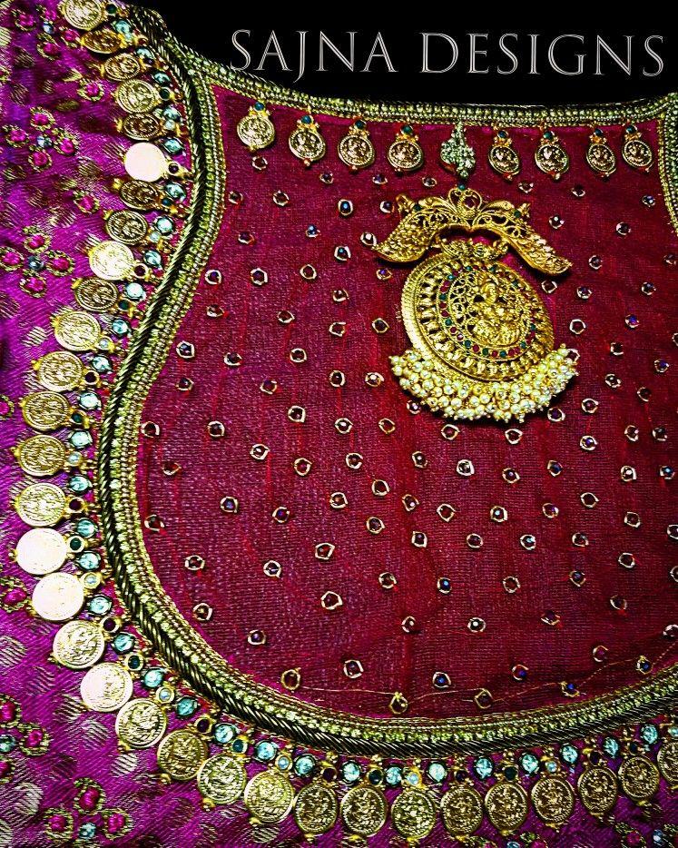 Coinblouse Mahalakshmipendantblouse Mahalakshmicoinblouse Boatneckblouse Netembro Peacock Blouse Designs Hand Work Blouse Design Embroidery Blouse Designs