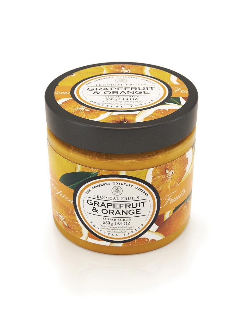Tropical Fruits Sugar Scrub This stuff is amazing! My fav is strawberry & papaya!