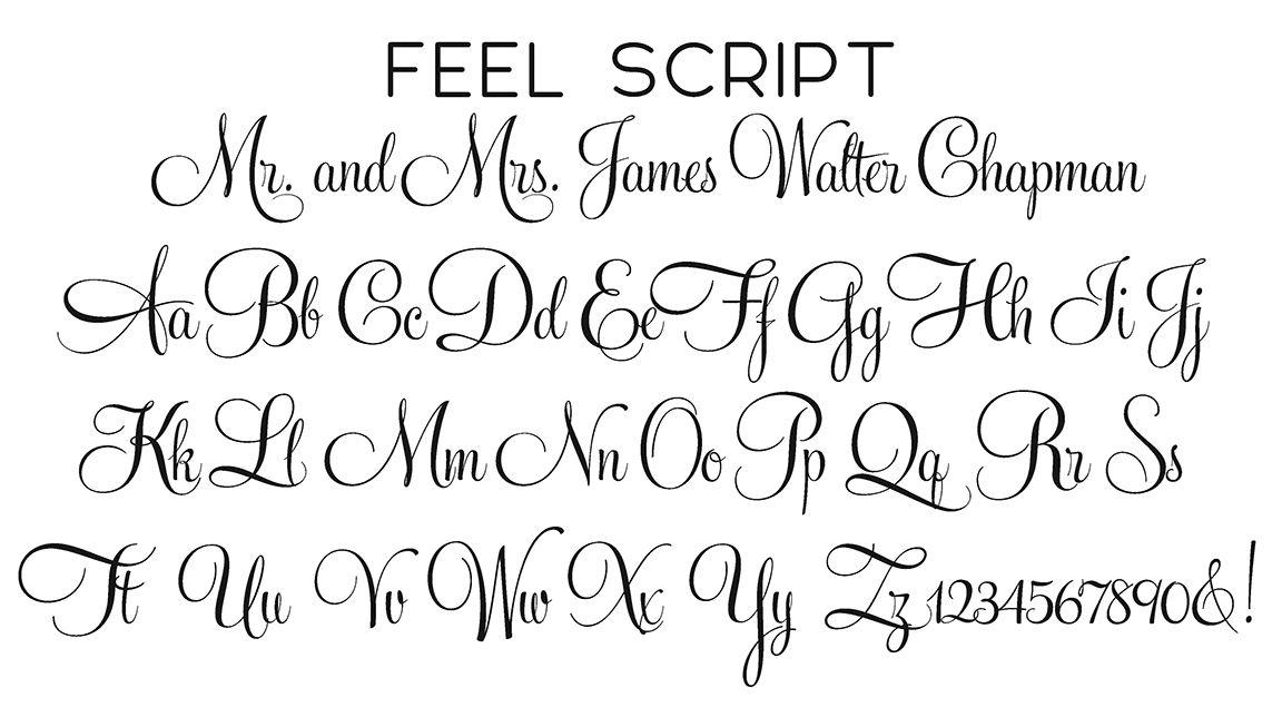 Feel Script | Font | Pinterest | Fonts