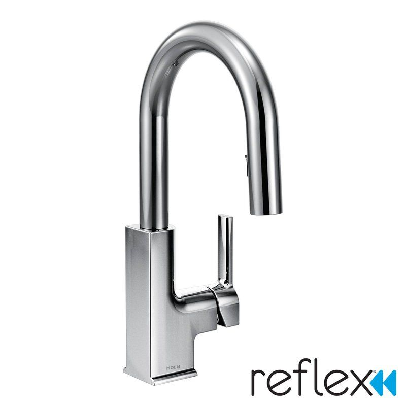 Sto Pull Down Bar Faucet With Reflex System Bar Faucets Faucet