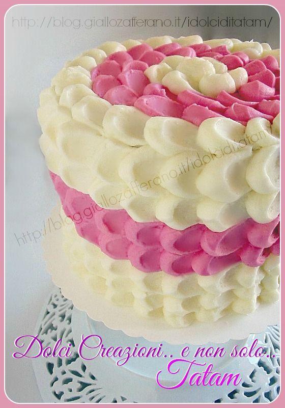 Torta Effetto Petalo Tutorial Petal Cake Cake And Food